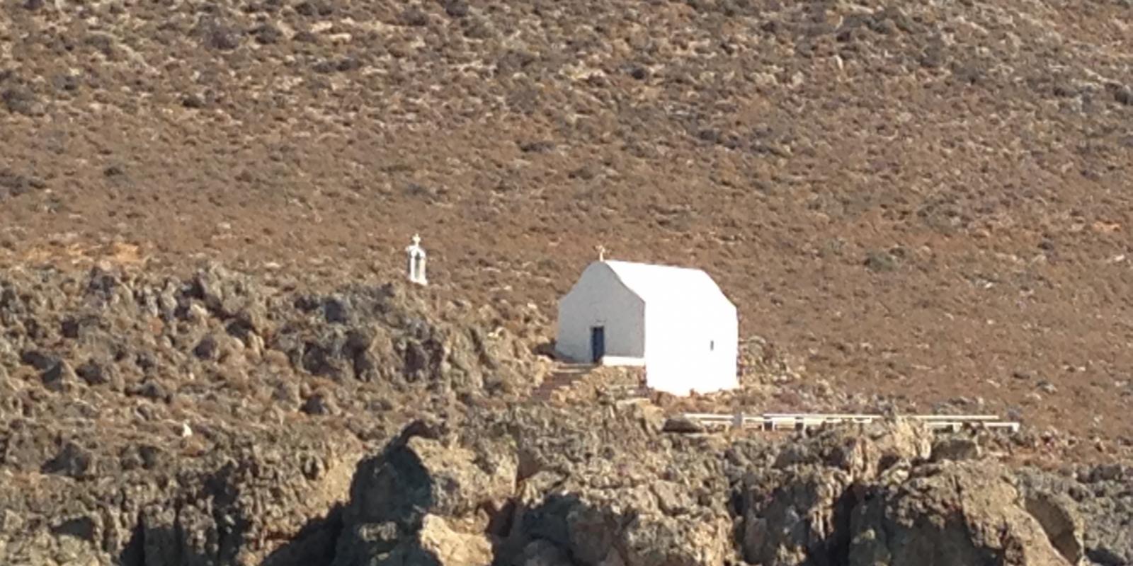 Southern coast in Crete