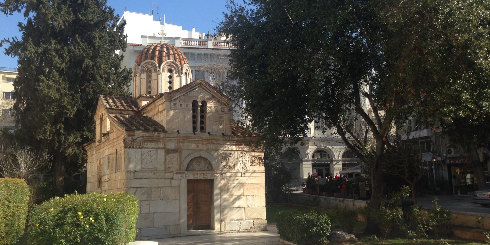 Old Church in centre of Athens